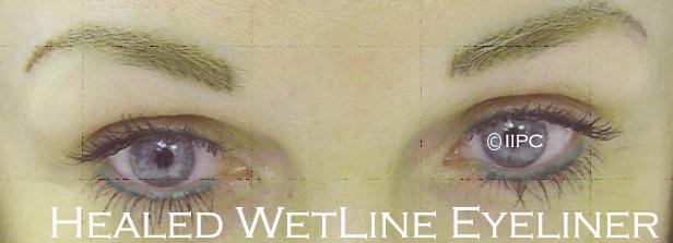 'WET LINE' Tissue Permanent Make Up Eyeliner